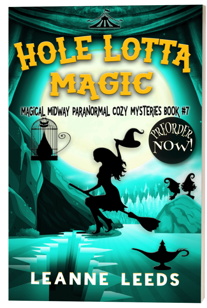 Book Cover: Hole Lotta Magic